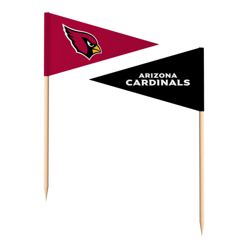 Arizona Cardinals Toothpick Flags