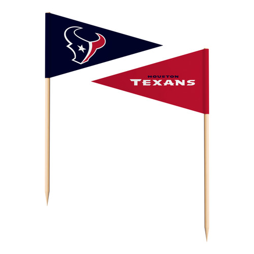 Houston Texans Toothpick Flags