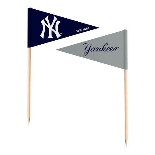 New York Yankees Toothpick Flags