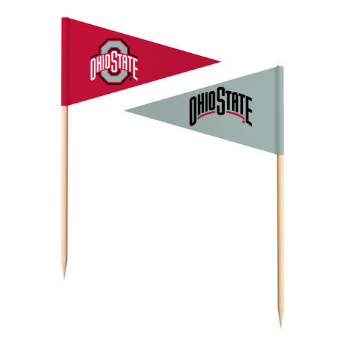 Ohio State Buckeyes Toothpick Flags - Special Order