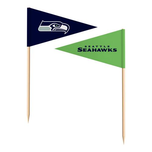 Seattle Seahawks Toothpick Flags