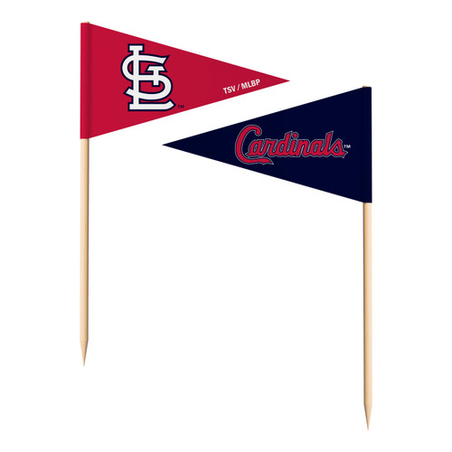 St. Louis Cardinals Toothpick Flags