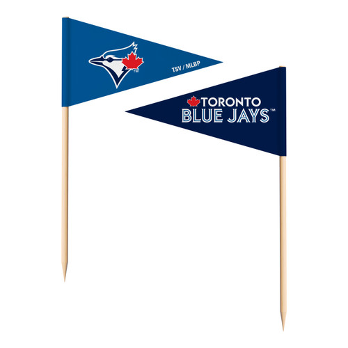 Toronto Blue Jays Toothpick Flags - Special Order