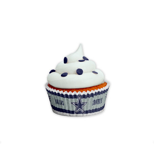 Dallas Cowboys Baking Cups Large 50 Pack