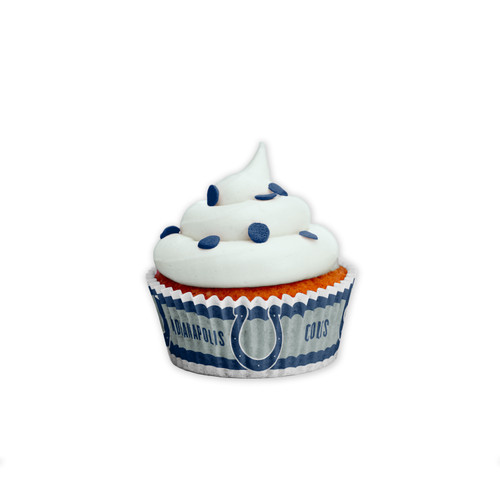 Indianapolis Colts Baking Cups Large 50 Pack