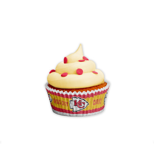 Kansas City Chiefs Baking Cups Large 50 Pack