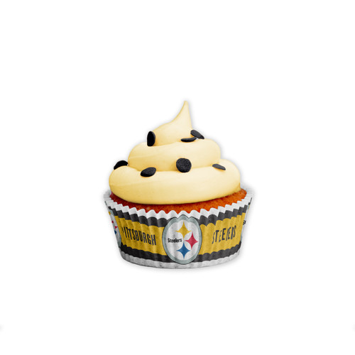 Pittsburgh Steelers Baking Cups Large 50 Pack