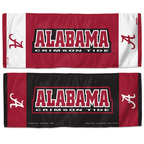 Alabama Crimson Tide Cooling Towel 12x30