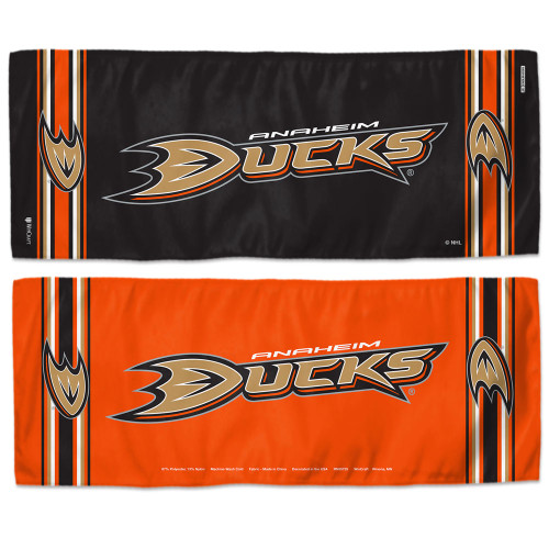 Anaheim Ducks Cooling Towel 12x30 - Special Order