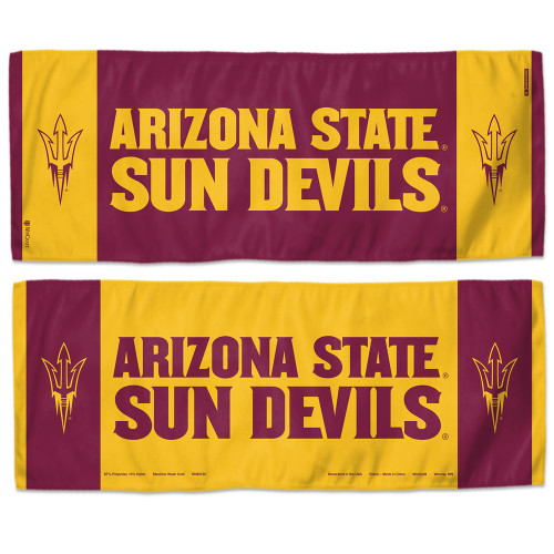Arizona State Sun Devils Cooling Towel 12x30 - Special Order