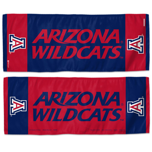 Arizona Wildcats Cooling Towel 12x30 - Special Order