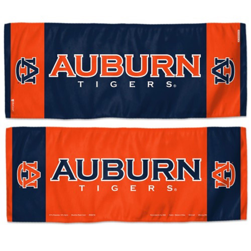 Auburn Tigers Cooling Towel 12x30 - Special Order