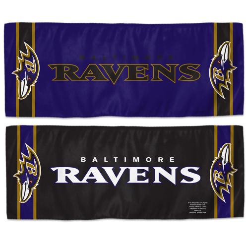 Baltimore Ravens Cooling Towel 12x30