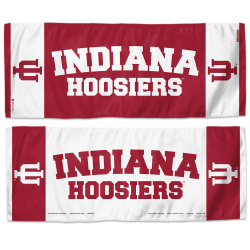 Indiana Hoosiers Cooling Towel 12x30 - Special Order