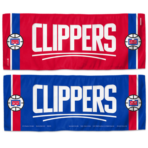 Los Angeles Clippers Cooling Towel 12x30 - Special Order