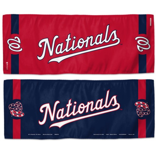 Washington Nationals Cooling Towel 12x30 - Special Order