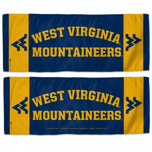 West Virginia Mountaineers Cooling Towel 12x30 - Special Order