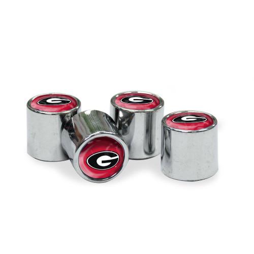 Georgia Bulldogs Valve Stem Caps