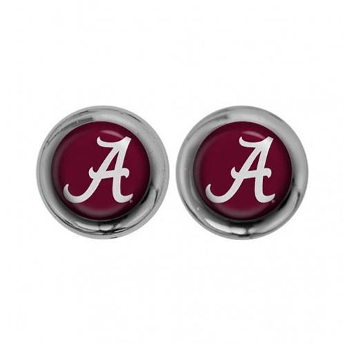 Alabama Crimson Tide Screw Caps Domed
