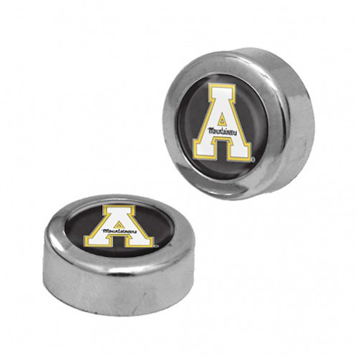 Appalachian State Mountaineers Screw Caps Domed - Special Order