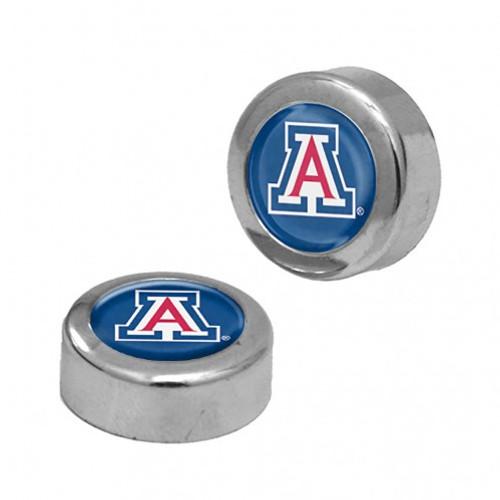 Arizona Wildcats Screw Caps Domed - Special Order