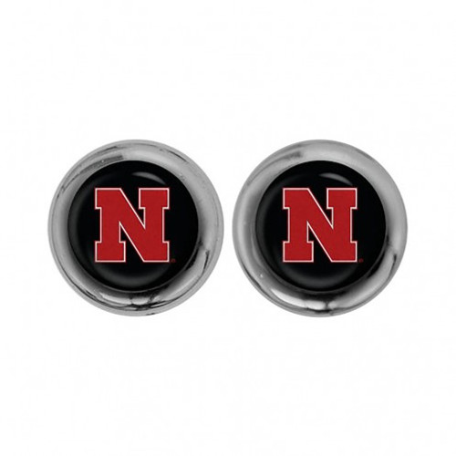 Nebraska Cornhuskers Screw Caps Domed - Special Order