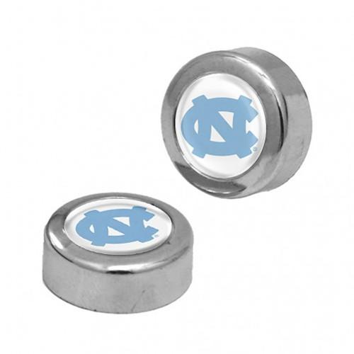 North Carolina Tar Heels Screw Caps Domed