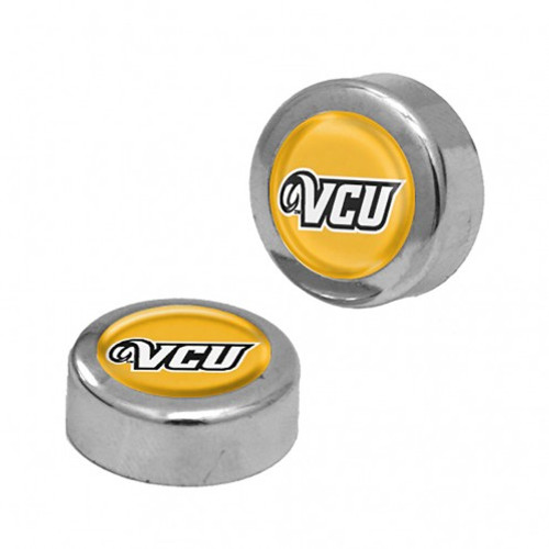 VCU Rams Screw Caps Domed - Special Order