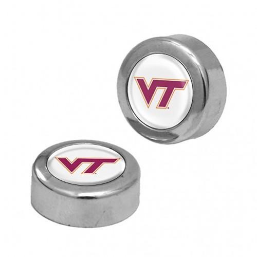 Virginia Tech Hokies Screw Caps Domed - Special Order