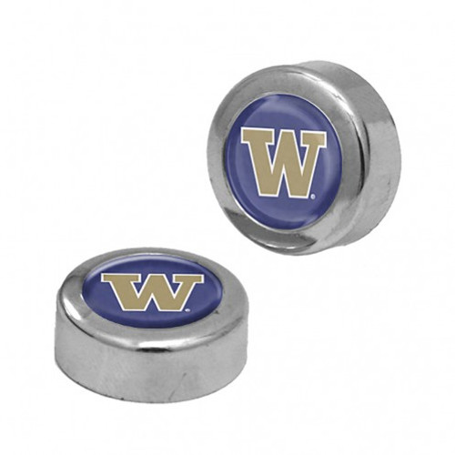 Washington Huskies Screw Caps Domed - Special Order