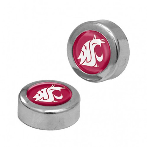 Washington State Cougars Screw Caps Domed