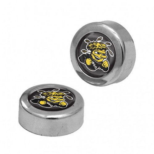 Wichita State Shockers Screw Caps Domed - Special Order