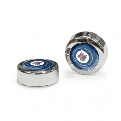 Winnipeg Jets Screw Caps Domed - Special Order