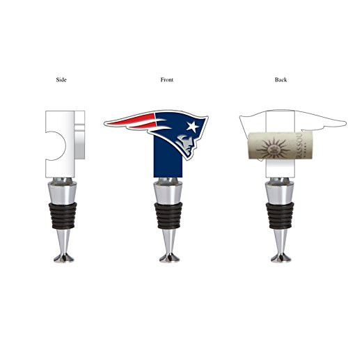 New England Patriots Wine Bottle Stopper Logo - Special Order