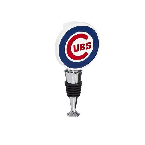 Chicago Cubs Wine Bottle Stopper Logo - Special Order