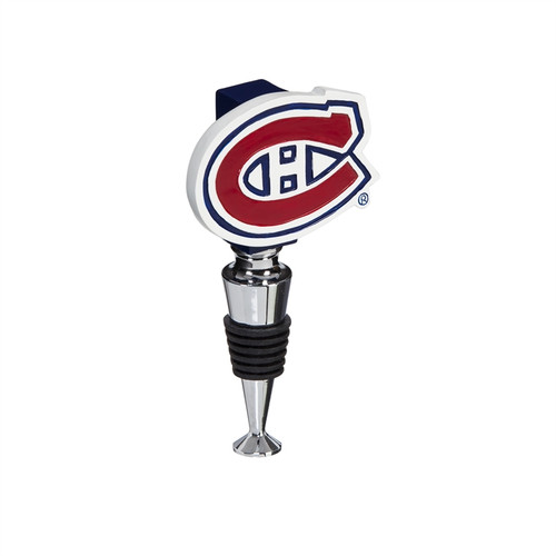 Montreal Canadiens Wine Bottle Stopper Logo - Special Order
