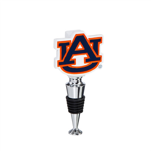 Auburn Tigers Wine Bottle Stopper Logo - Special Order