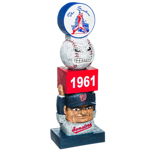 Washington Nationals Garden Statue Vintage Design - Special Order