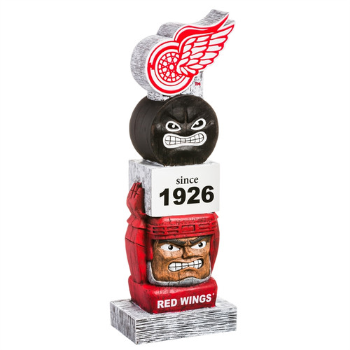 Detriot Red Wings Garden Statue Vintage Design - Special Order