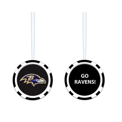 Baltimore Ravens Ornament Game Chip - Special Order