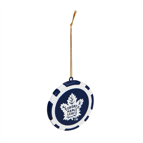 Toronto Maple Leafs Ornament Game Chip - Special Order
