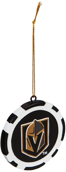 Vegas Golden Knights Ornament Game Chip - Special Order