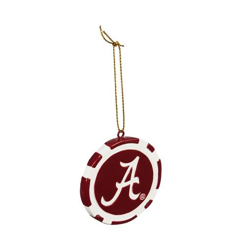 Alabama Crimson Tide Ornament Game Chip - Special Order