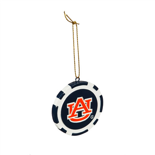 Auburn Tigers Ornament Game Chip - Special Order