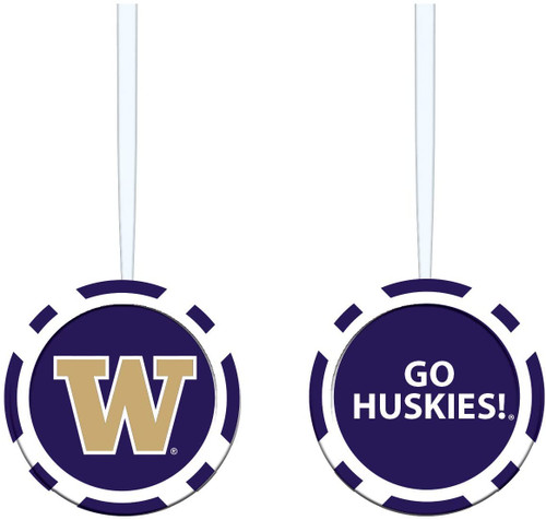 Washington Huskies Ornament Game Chip - Special Order