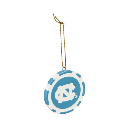 North Carolina Tar Heels Ornament Game Chip - Special Order