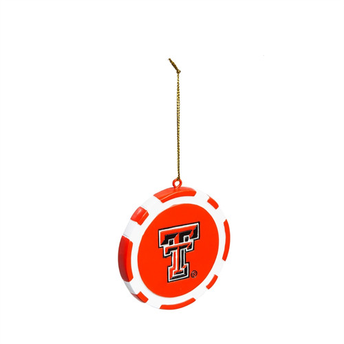 Texas Tech Red Raiders Ornament Game Chip - Special Order