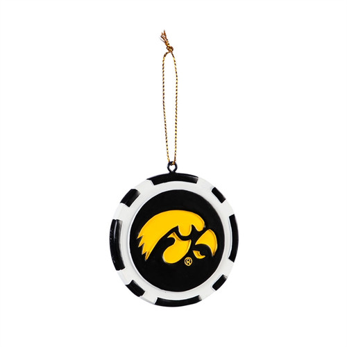 Iowa Hawkeyes Ornament Game Chip - Special Order