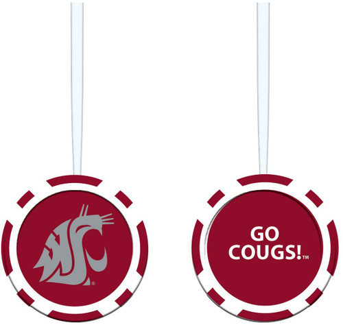 Washington State Cougars Ornament Game Chip - Special Order