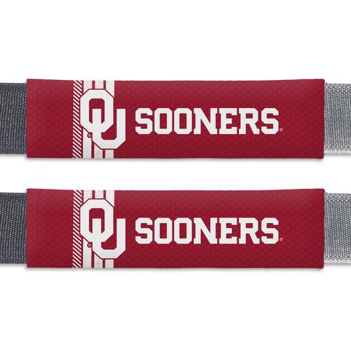 Oklahoma Sooners Seat Belt Pads Rally Design CO